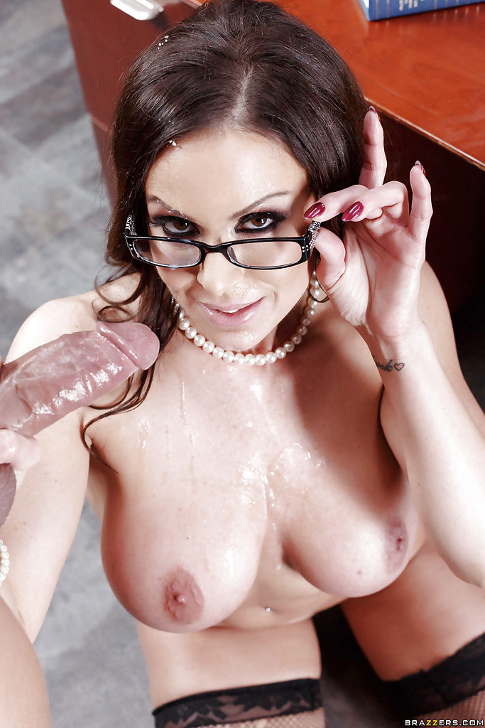 Tits dripping with cum