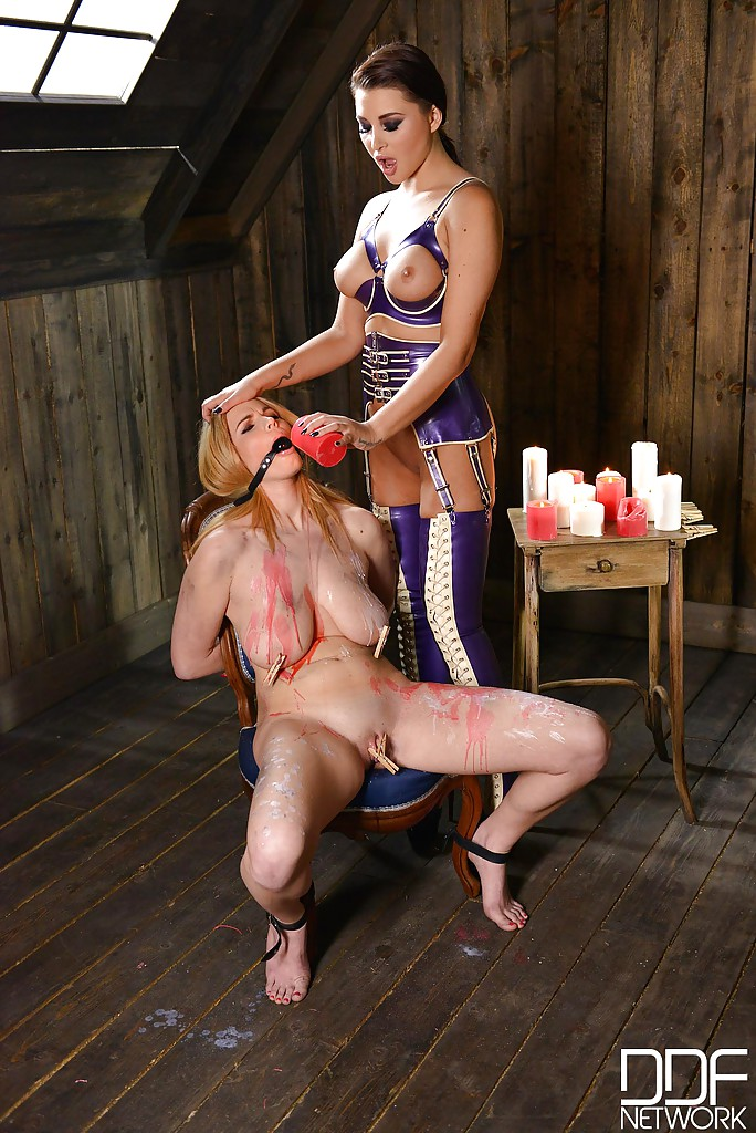 fetish lesbos anna polina and tasha holz enjoy hard bdsm