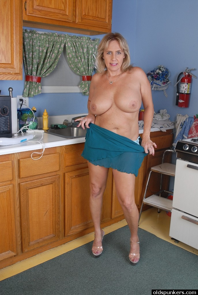 Mature women kitchen congratulate, the