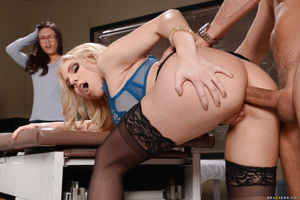 Brazzers - big butt office slut