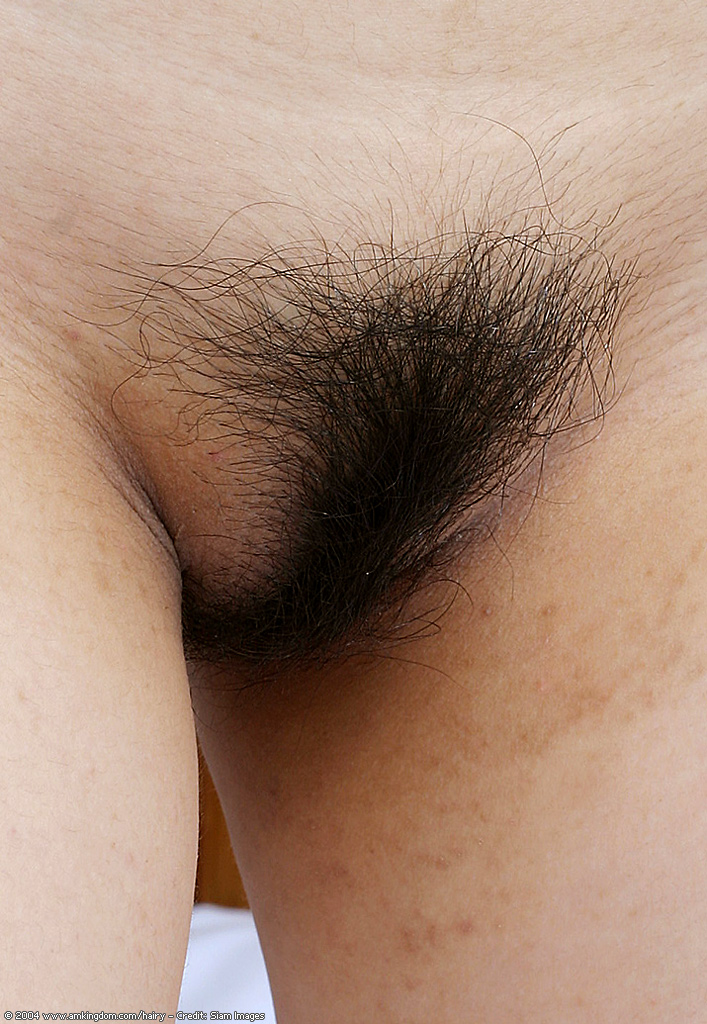 Nude hairy asian women