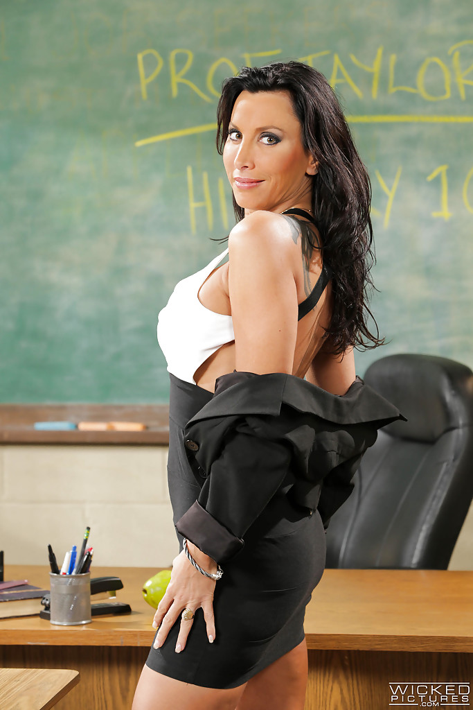 High School Teacher Milf
