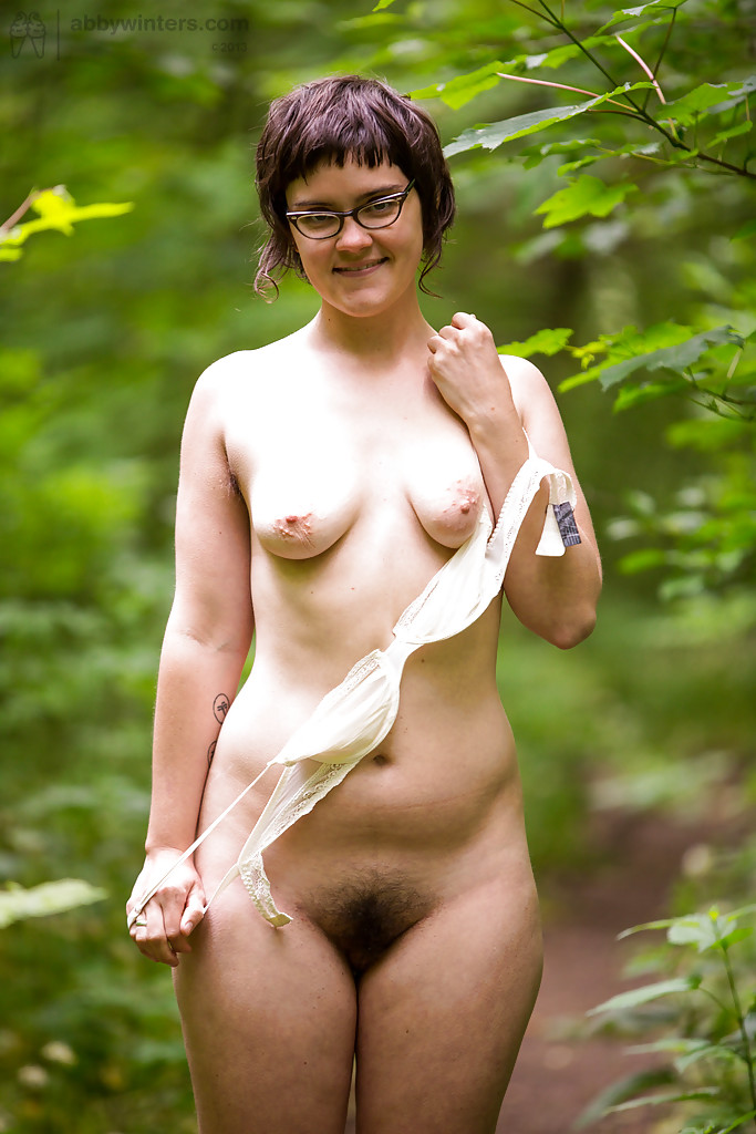 Consider, that Nude college girl woods Amazingly!