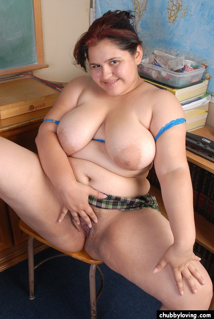 With tits big mrxica Fat