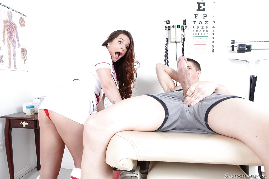 Nurse shawna lenee takes care of your cock - 2 10