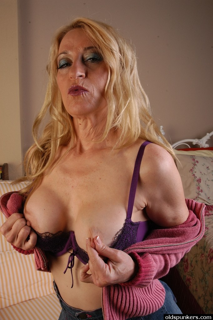 Grannies mature erect nipples