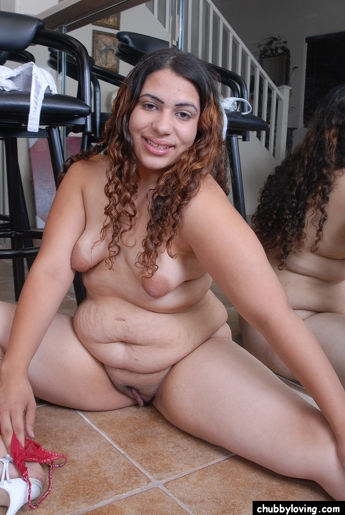 Hispanic girl chubby