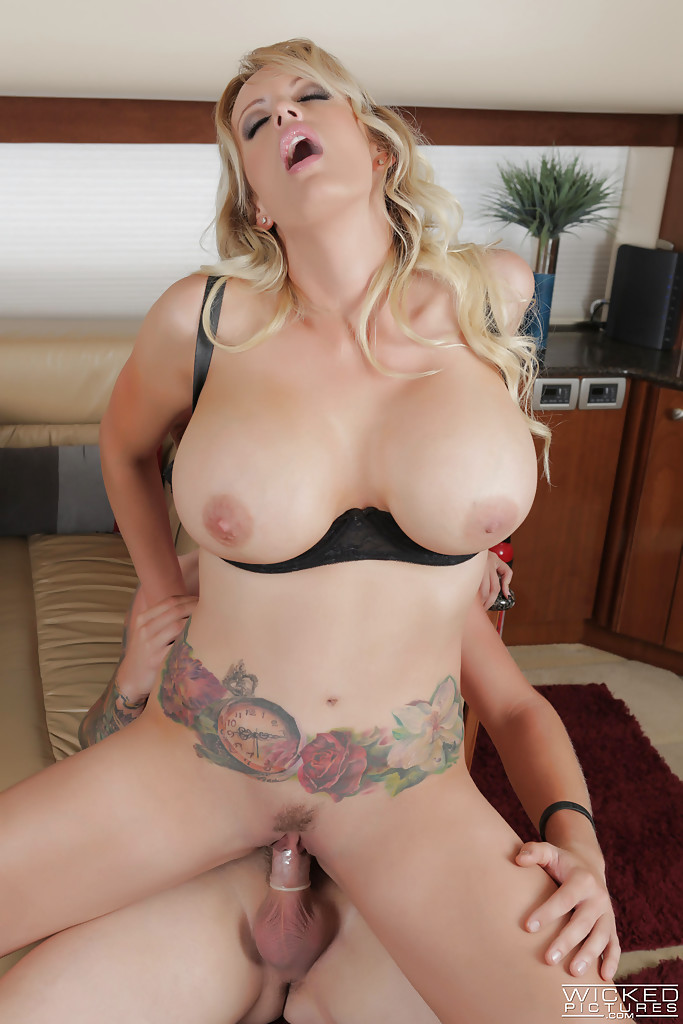 Big Titty Pornstars Riding Cock
