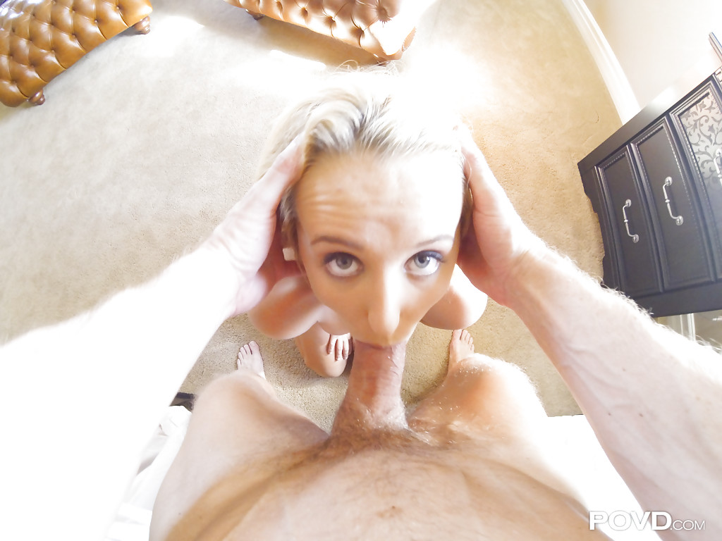 Homemade Blowjob Blonde Pov