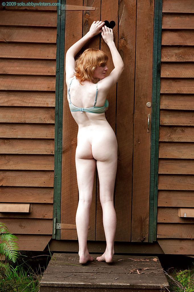 Amateur redhead mature outdoor dp mmf threesome 3