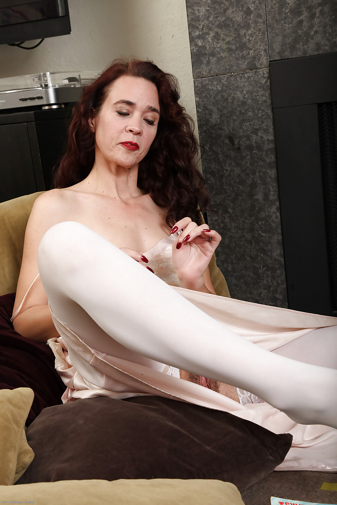 Brunette lady mature seems