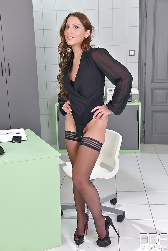 hot girls naked heels secretary