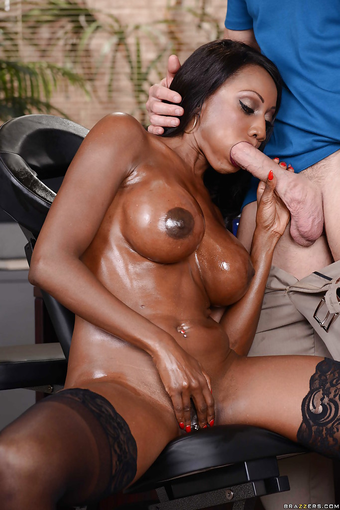 Ebony pornstar diamond THAT