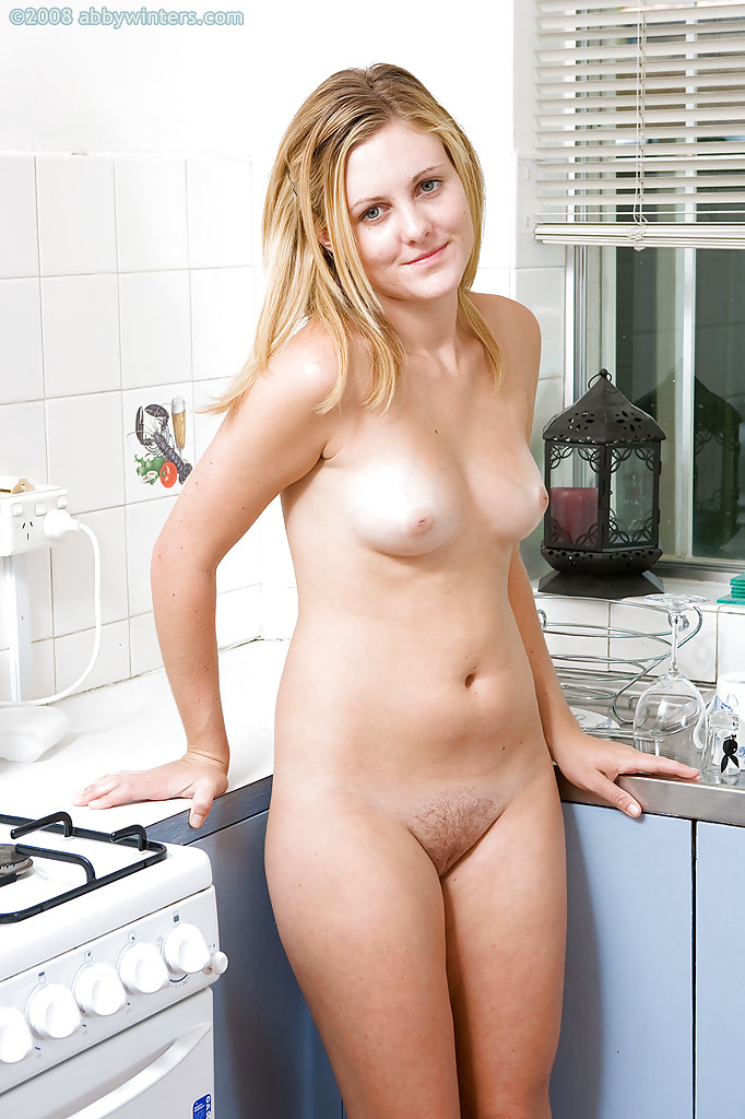 Naked hairy blonde girls