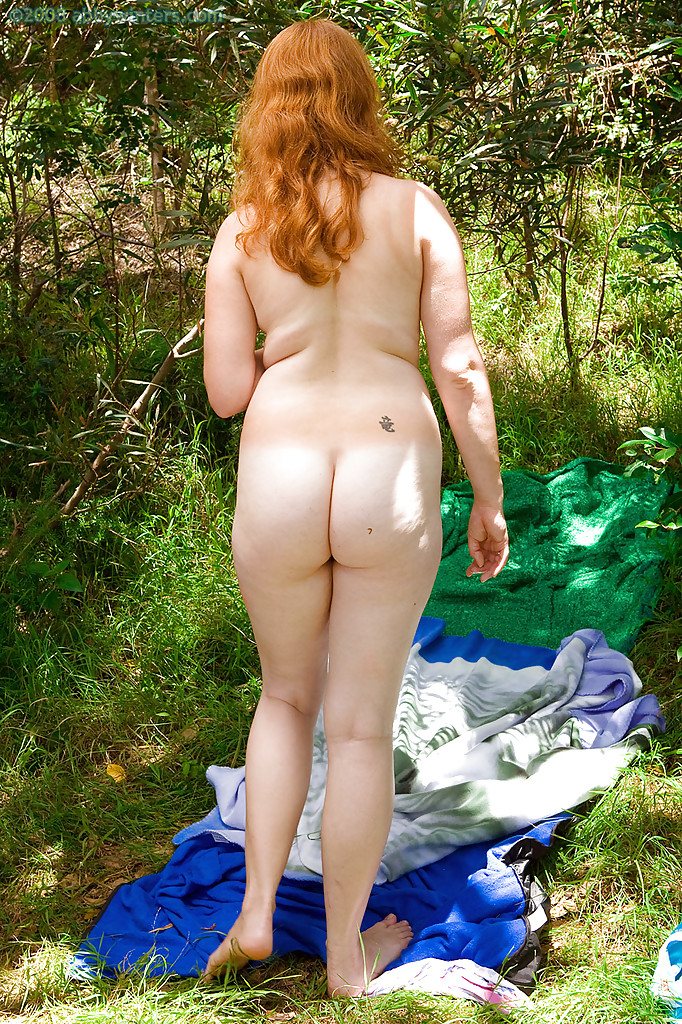 You are naked redhead girls outdoors does