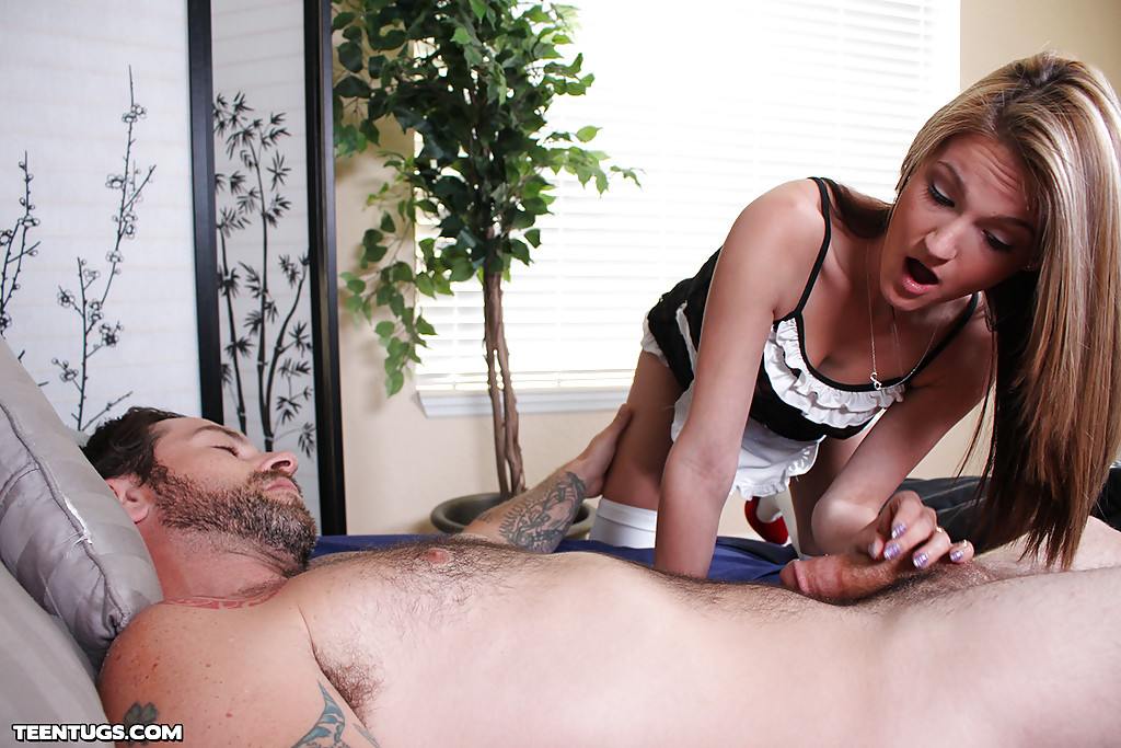 Young hot blonde fucks anything