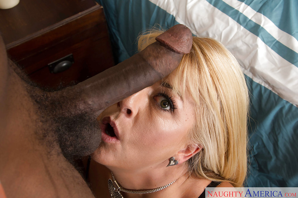 Blonde milf joclyn stone loves black cock