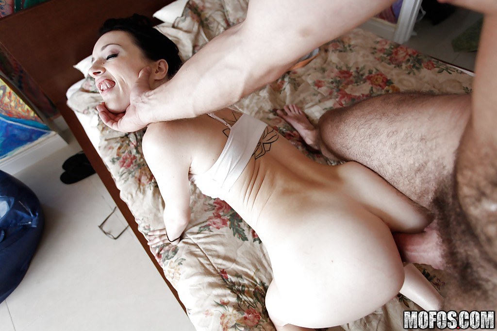 Teen getting fucked by three guys