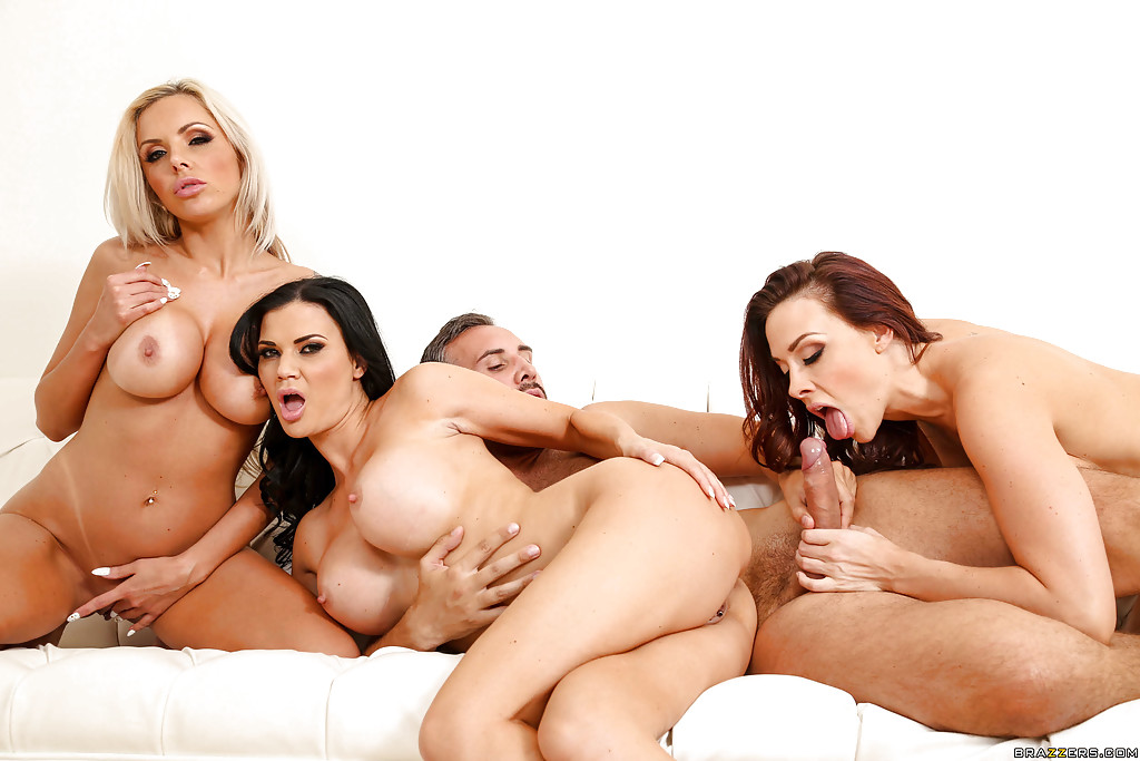 Brazzers group fuck