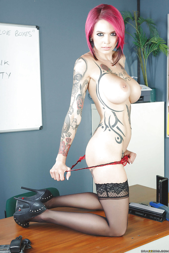 Tattooed slutty