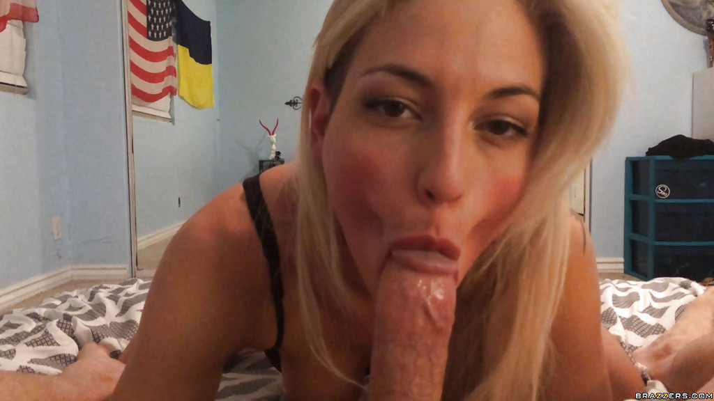 Blonde Cute Teen Pov Blowjob