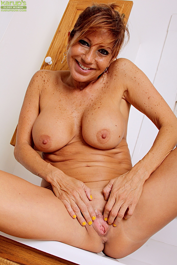 Large breasted mature women