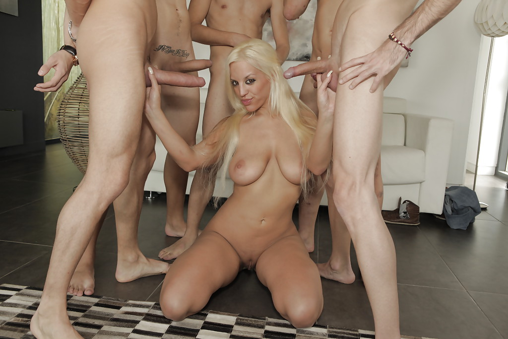 Remarkable, the Blondie blow gangbang galleries