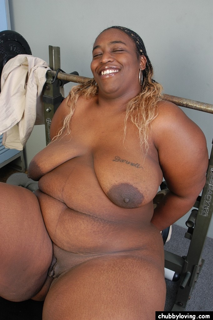 Fat black nude women big