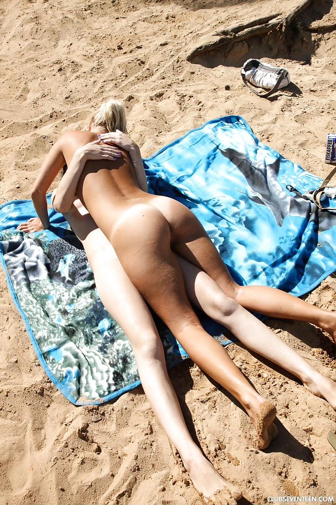 Lesbian Sex At The Beach