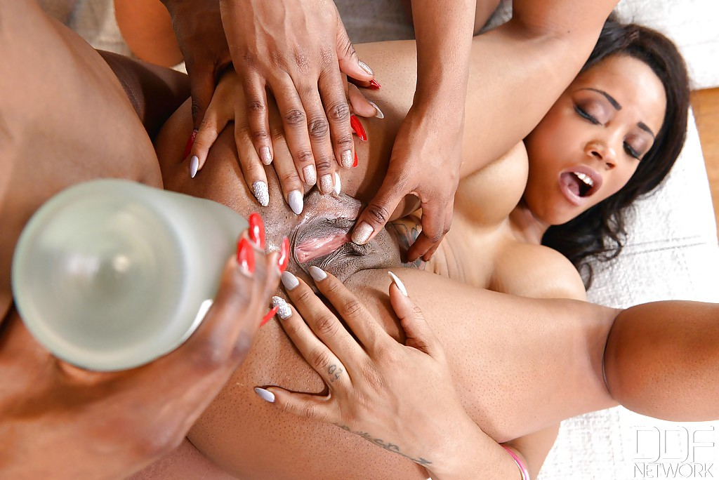 Bossy black lesbians eating pussy where can