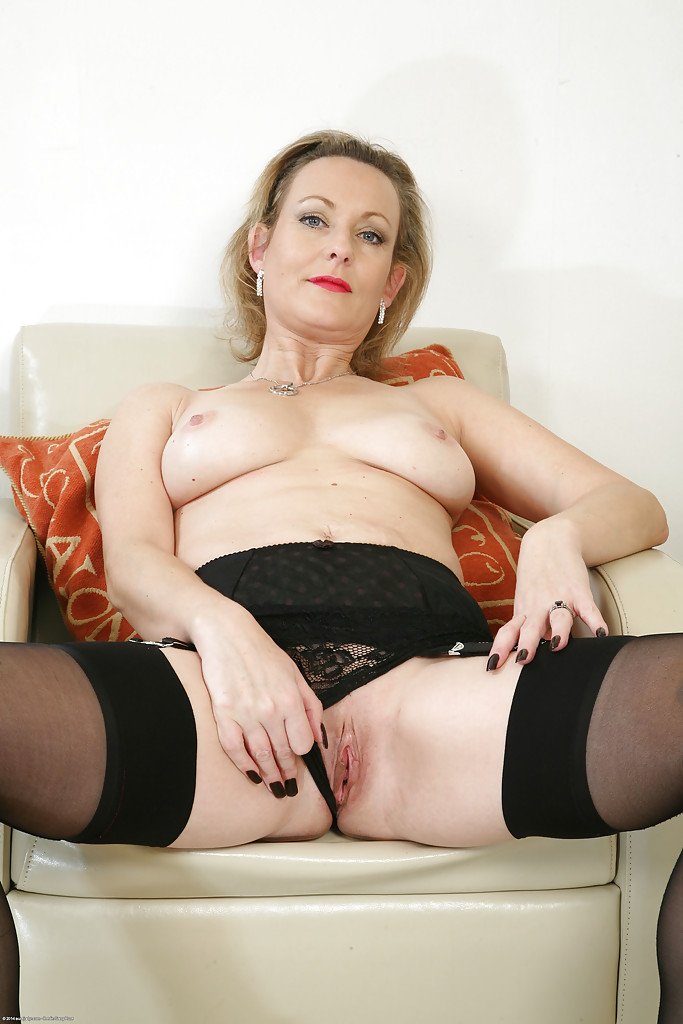 Milfs in black stockings