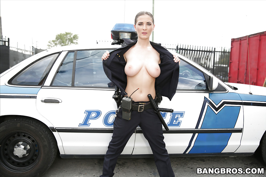 Police Woman With Big Tits