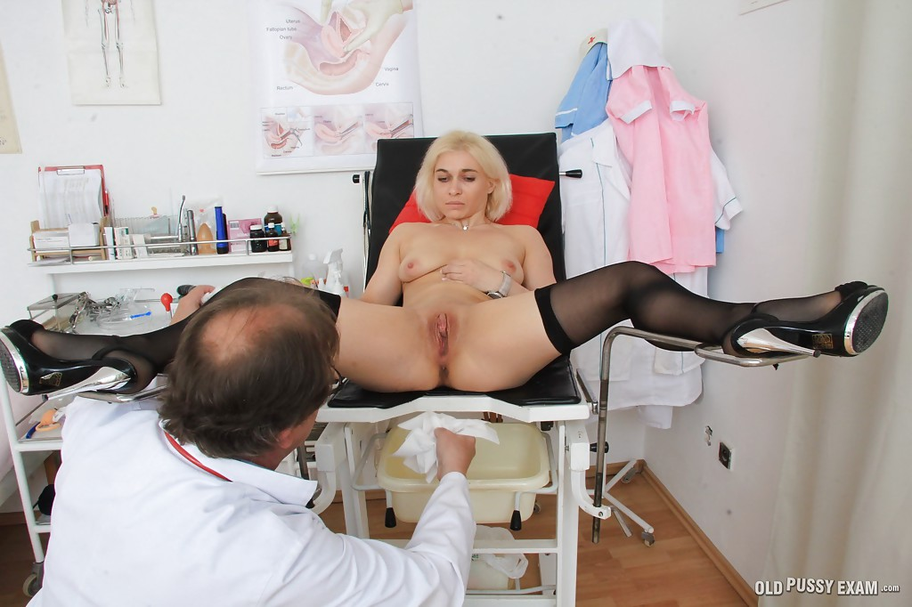 Native knocker golden-haired Milf Gritty getting her moggy extended by her gyno porn photo #320869216 | Old Pussy Exam, Sandy, Blonde, Close Up, Fetish, Gyno, MILF, Panties, Pussy, Reality, Spreading, Squirting, Stockings, mobile porn