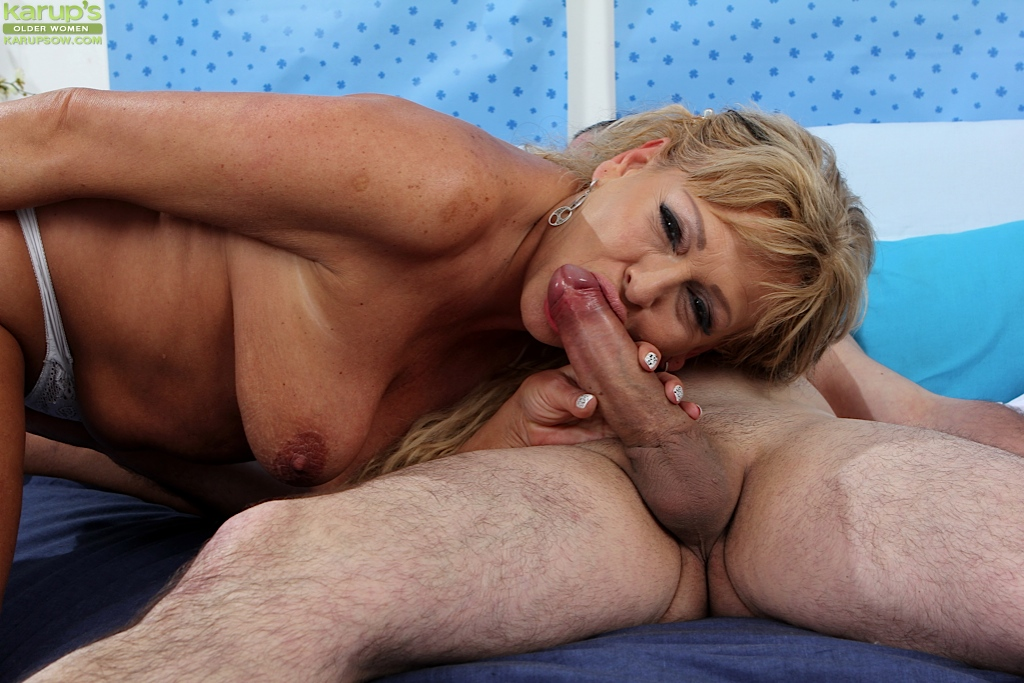 Young cock milf