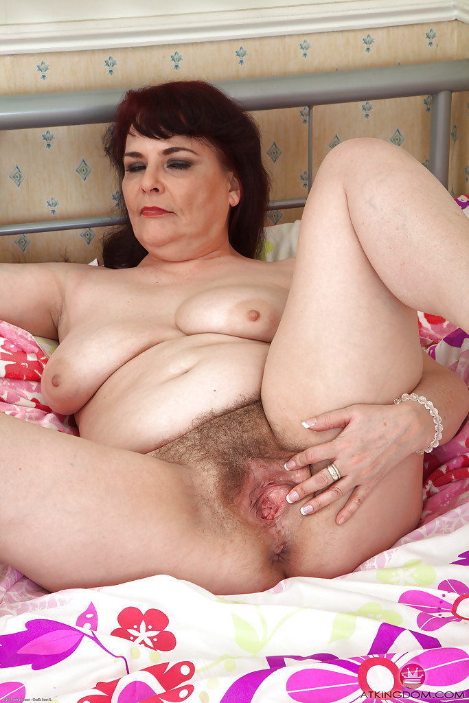 Christine and hairy pussy