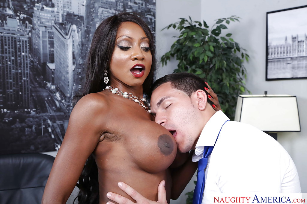 Ebony Fuck At Office