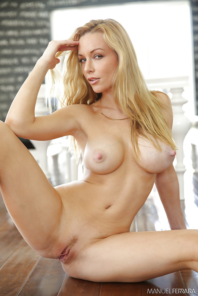 nude with hand on nipples