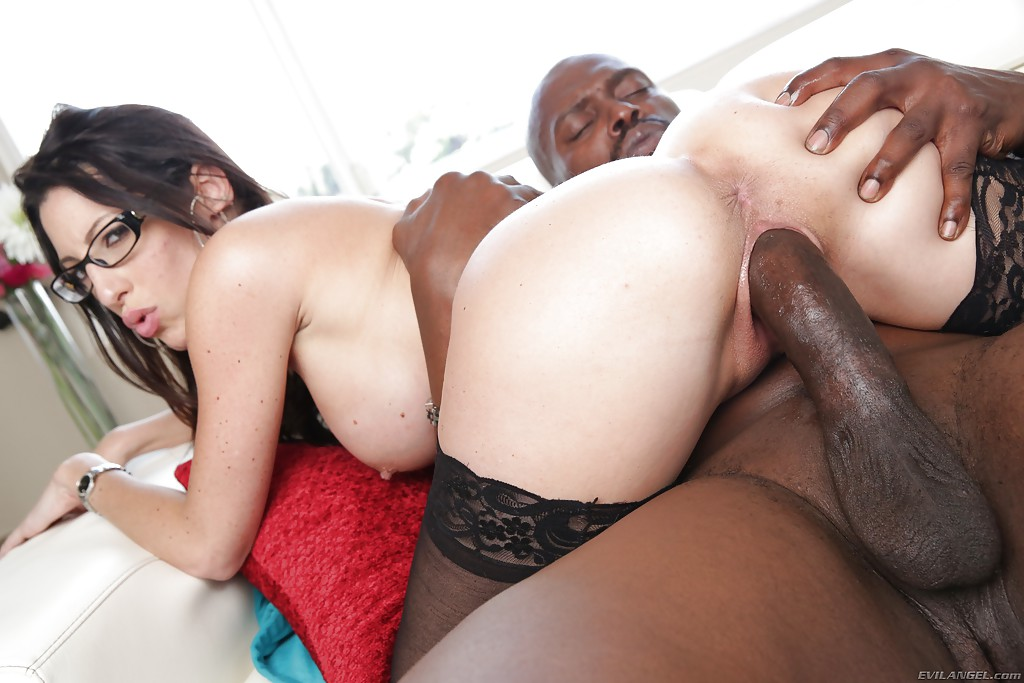 MILF pornstar Dava Foxx bends over for intense doggystyle fucking from BBC