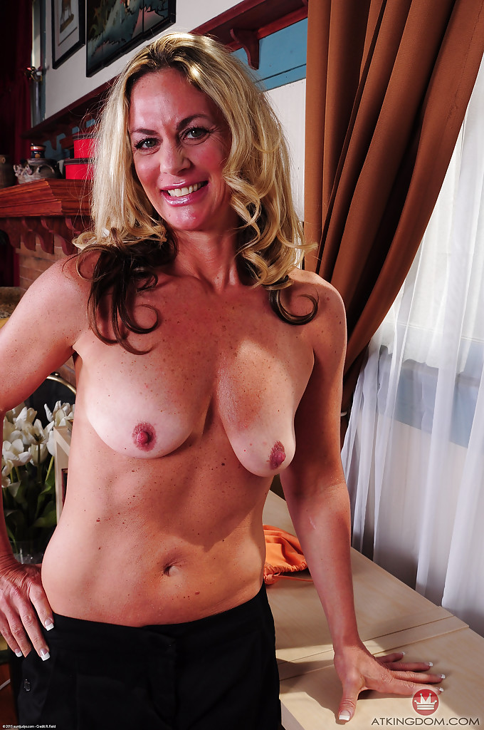 Mature nipples pinched