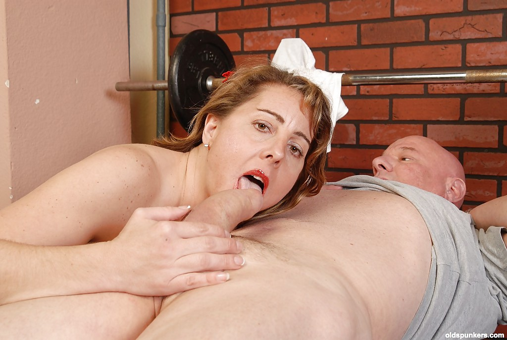 ... Blonde mom Cristie stroking and licking cock for cum swallowing scene  ...