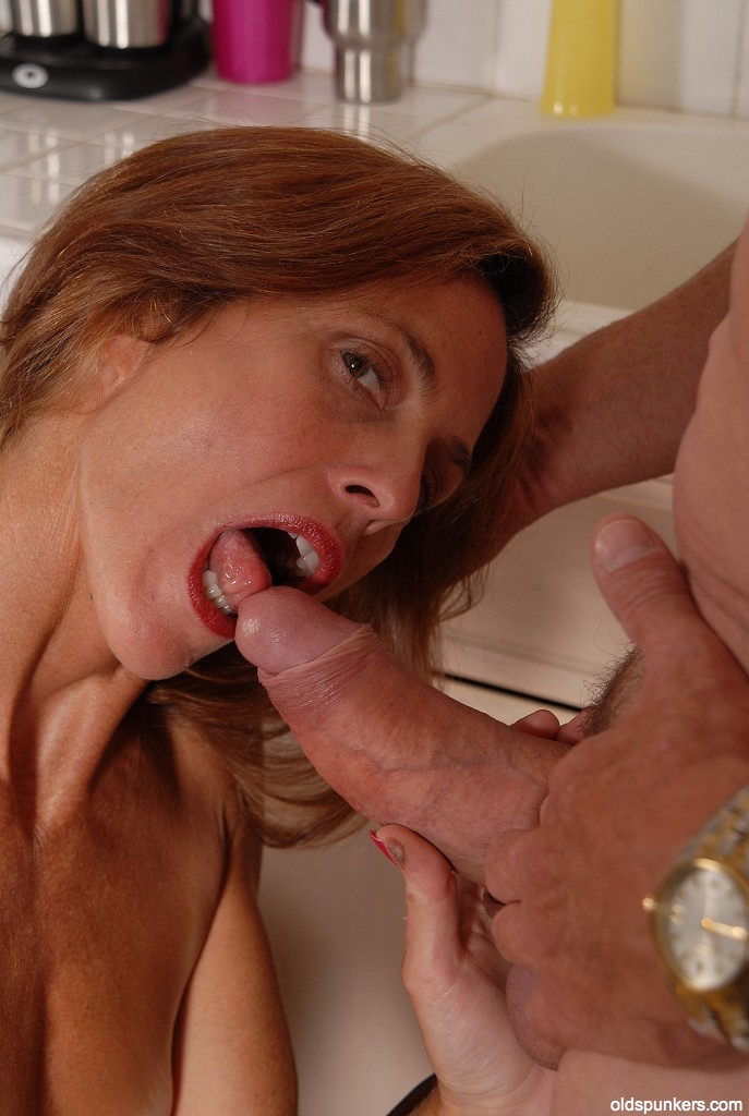 Oldest lady blow job amusing