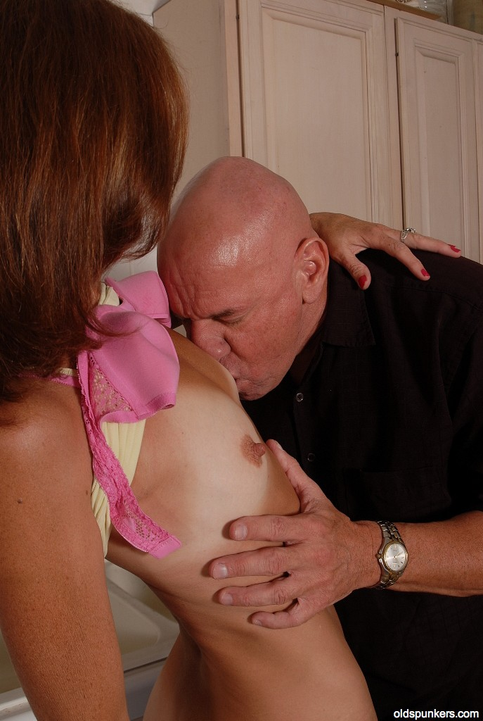 Brunette huge jug mature