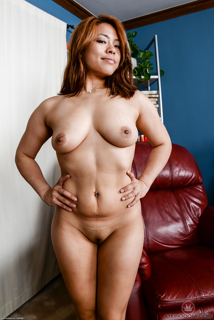 All Japanese lady in naked could