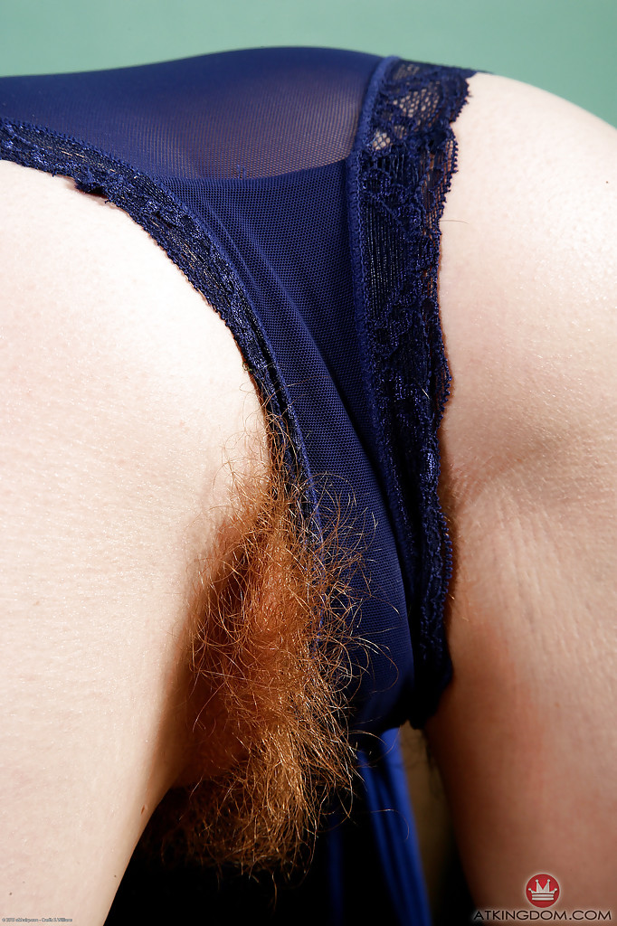 Panties with pubic hairs 8