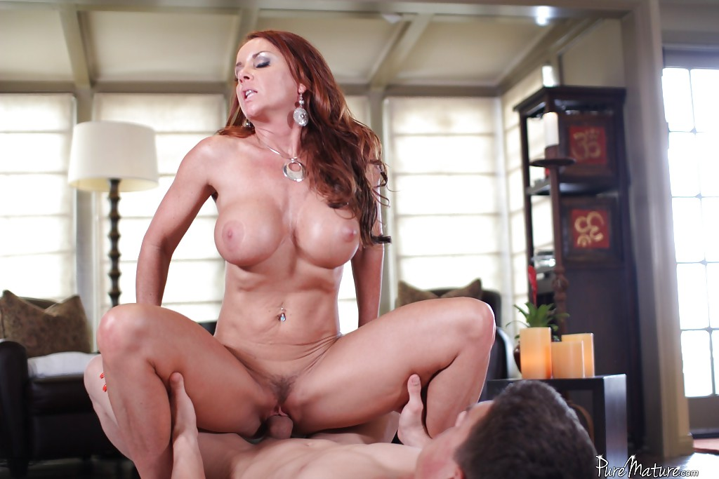Janet mason orgasms while riding reverse cowgirl