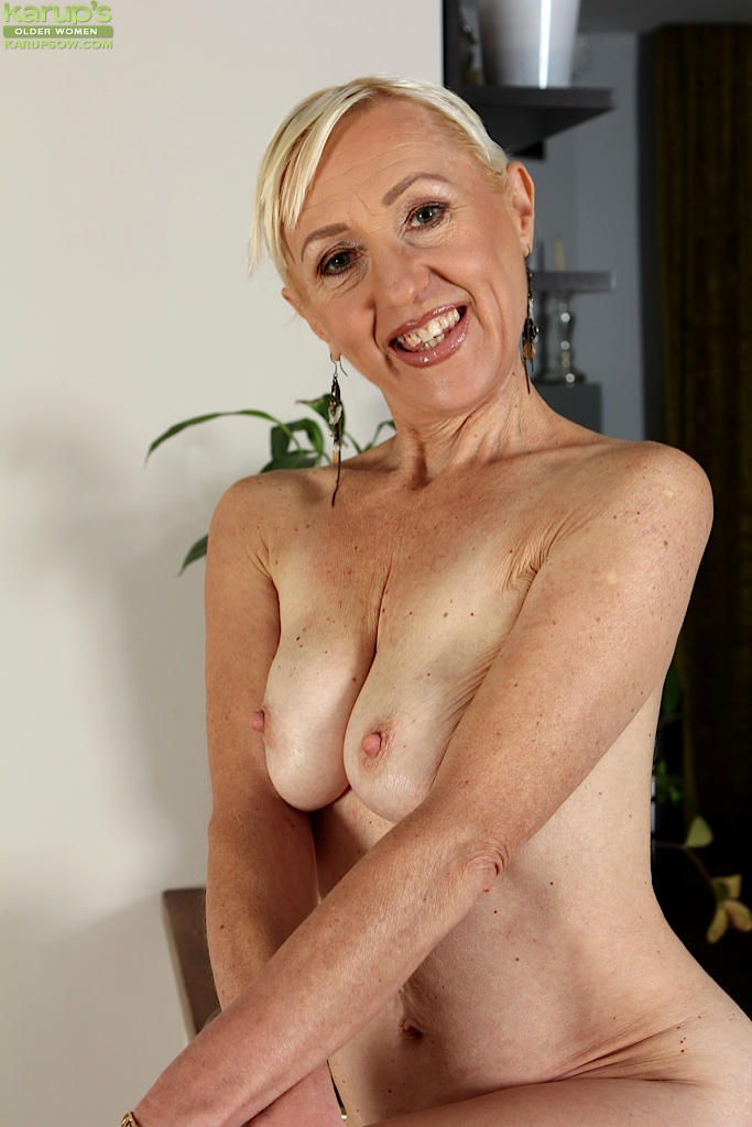 Out the big tit mature wife flashing