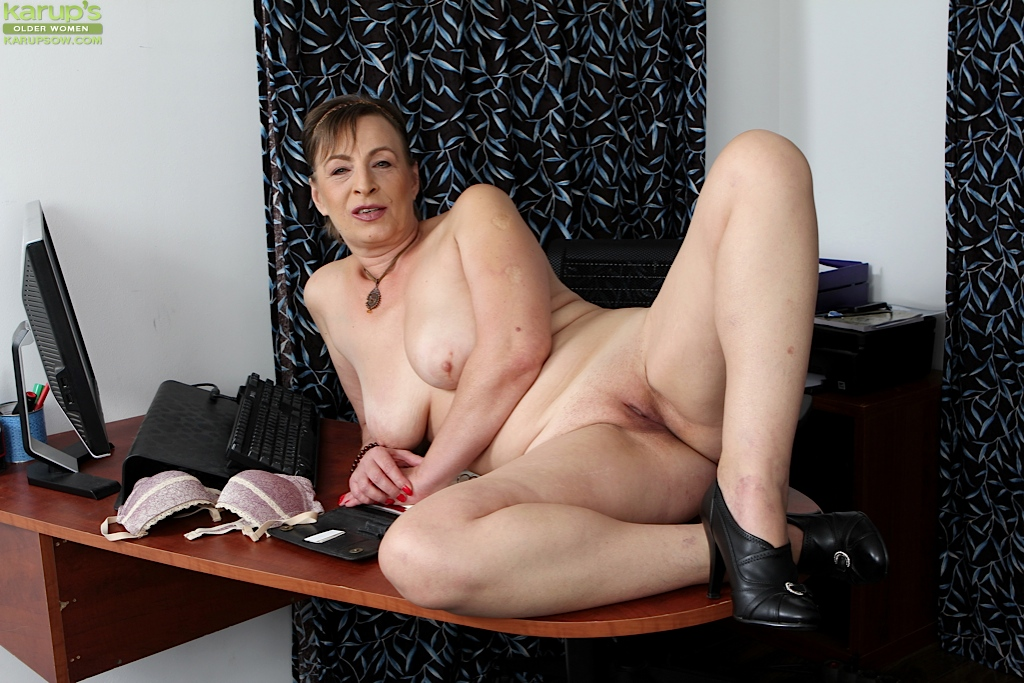 mature women stripping
