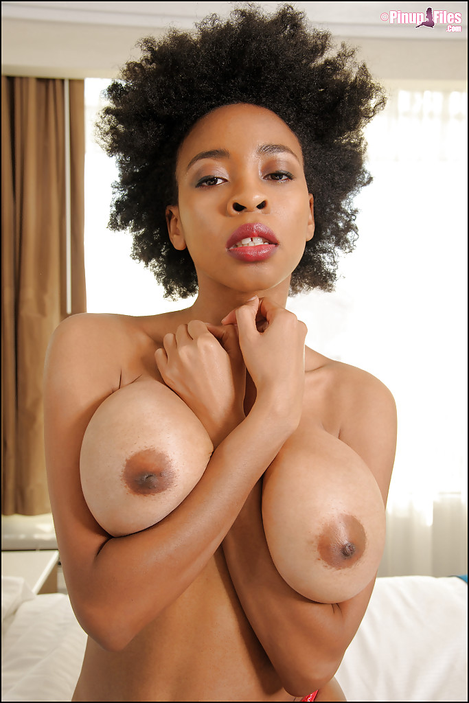 tits anderson Black julie big