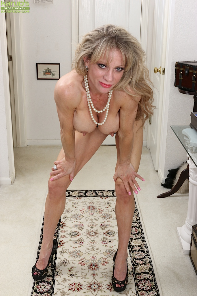 Christina blonde cougar strip has got!