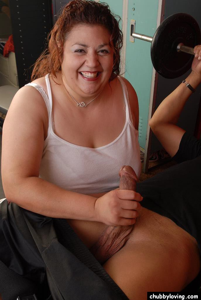 blowjobs cock Mature big woman